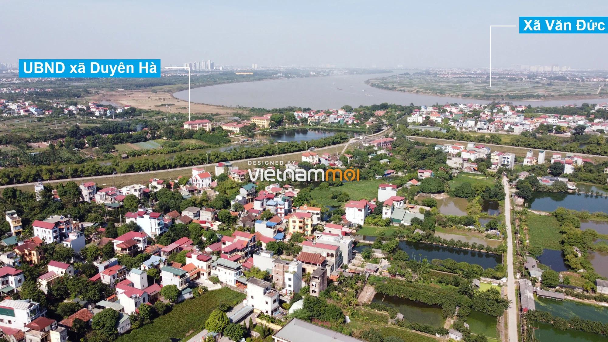 Toàn cảnh hiện trạng Phân khu đô thị sông Hồng trên địa bàn huyện Thanh Trì - Ảnh 13.