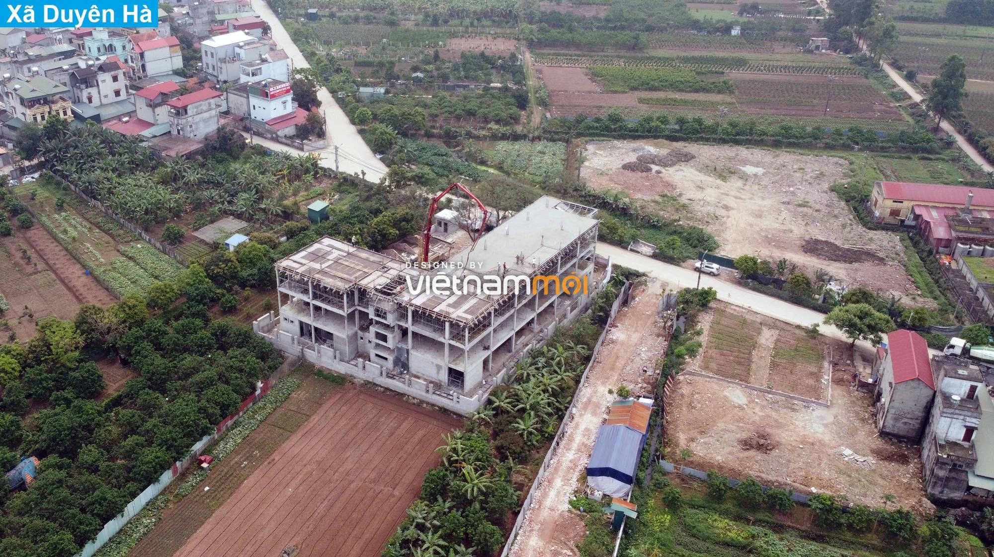Toàn cảnh hiện trạng Phân khu đô thị sông Hồng trên địa bàn huyện Thanh Trì - Ảnh 20.