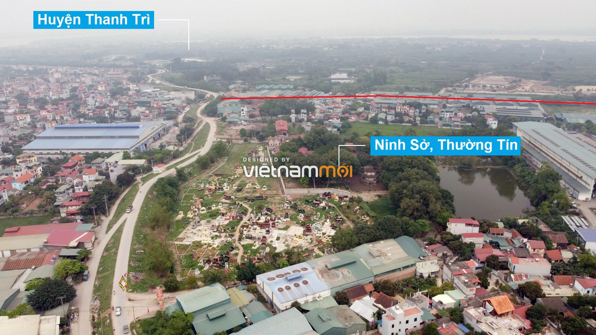 Toàn cảnh hiện trạng Phân khu đô thị sông Hồng trên địa bàn huyện Thanh Trì - Ảnh 29.