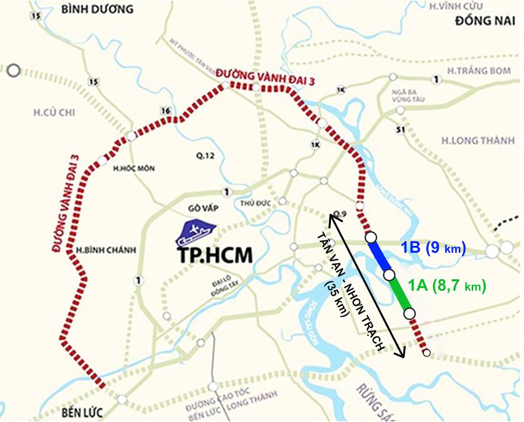 Bao giờ TP HCM có đường vành đai 3? - Ảnh 3.