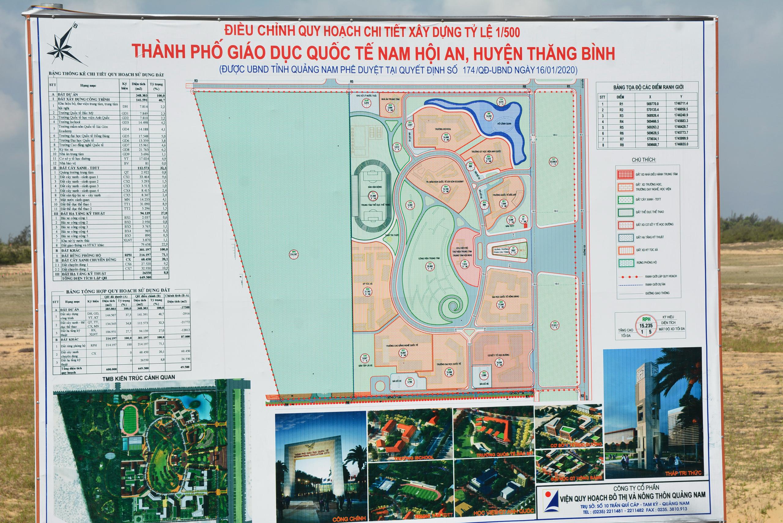 Cận cảnh khu đất Tập đoàn Nguyễn Hoàng đầu tư thành phố giáo dục, đối diện Vinpearl Nam Hội An - Ảnh 8.
