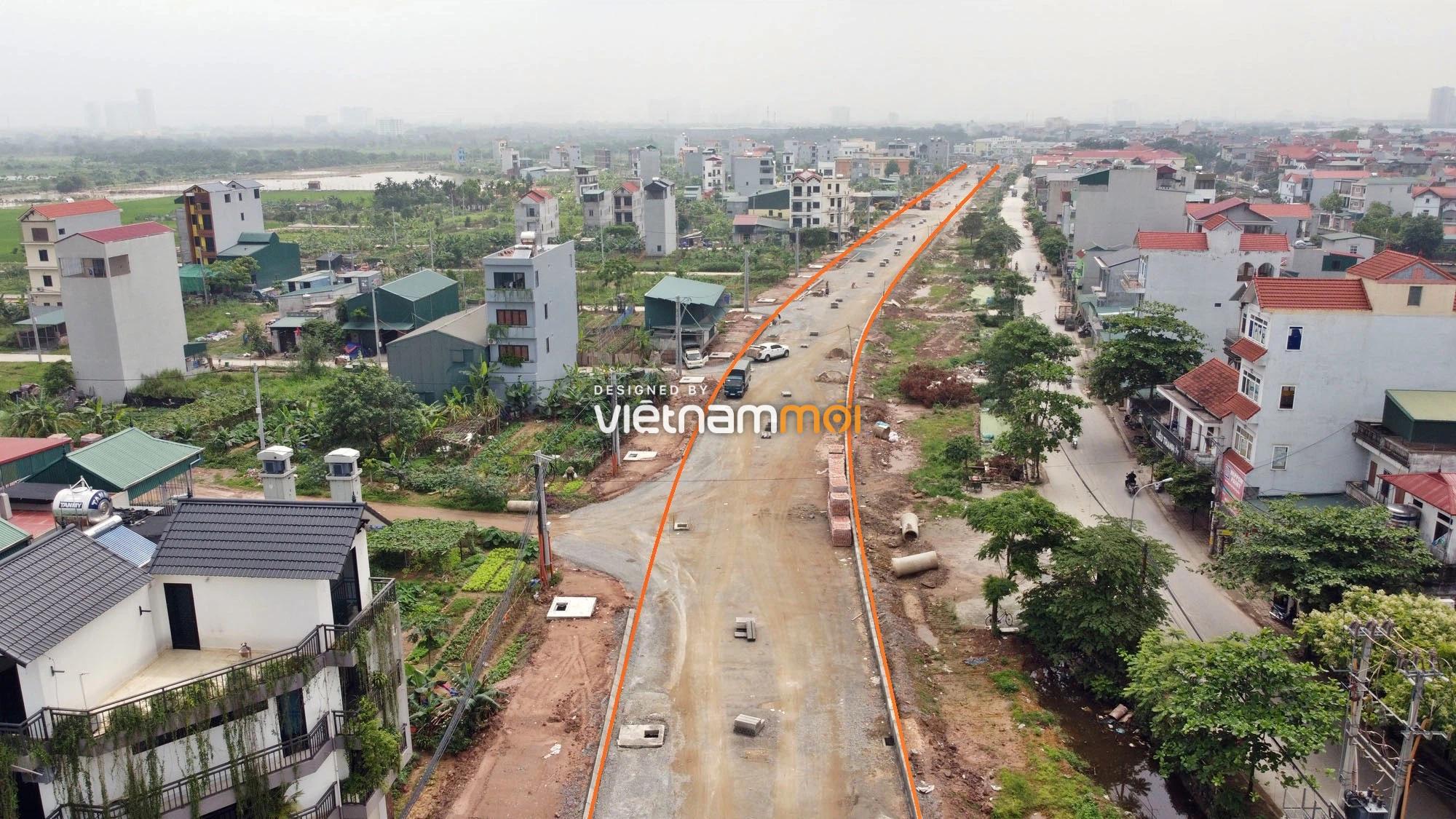 Toàn cảnh đường Lại Yên - Vân Canh đang mở theo quy hoạch ở Hà Nội - Ảnh 4.