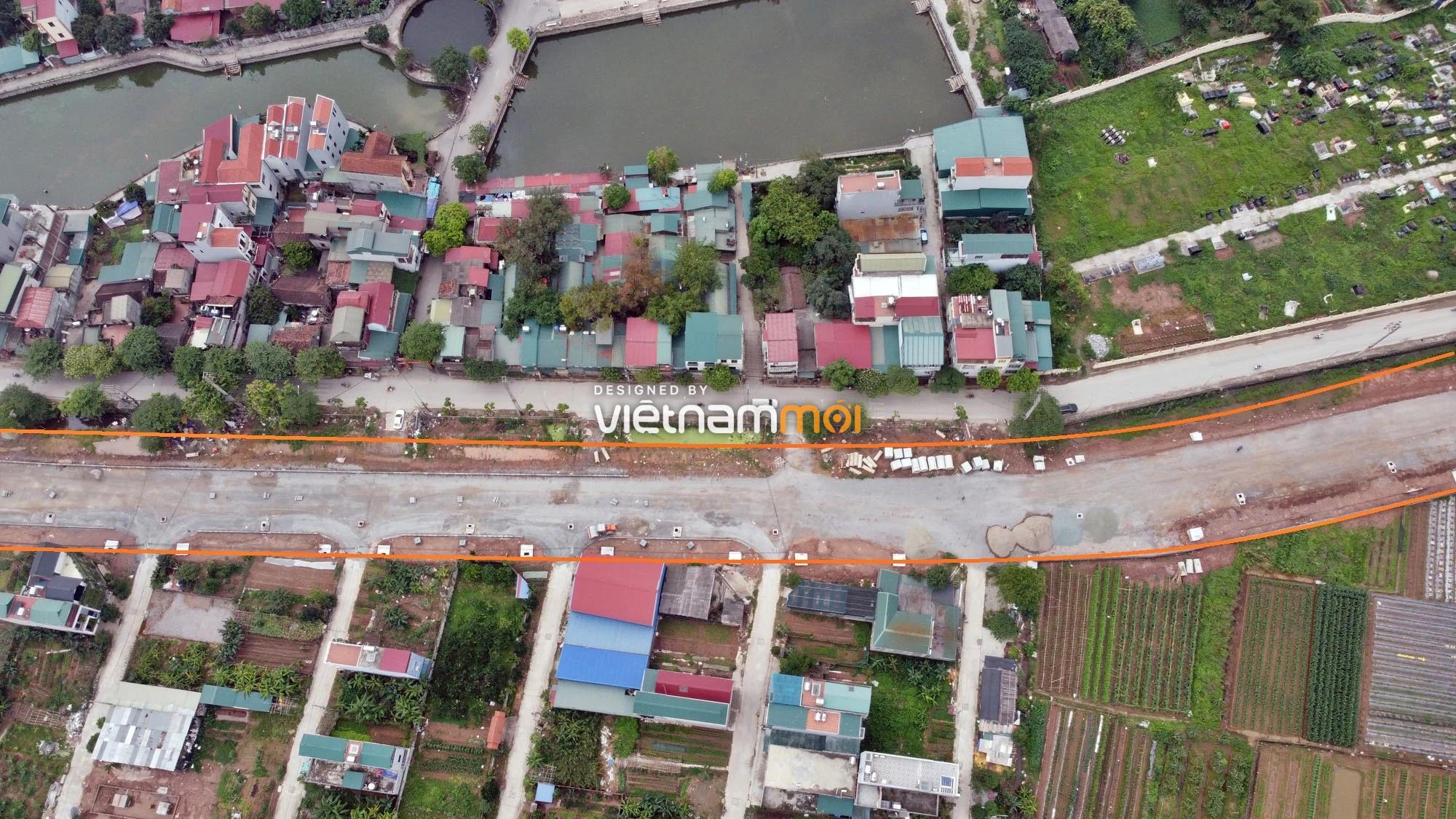 Toàn cảnh đường Lại Yên - Vân Canh đang mở theo quy hoạch ở Hà Nội - Ảnh 5.