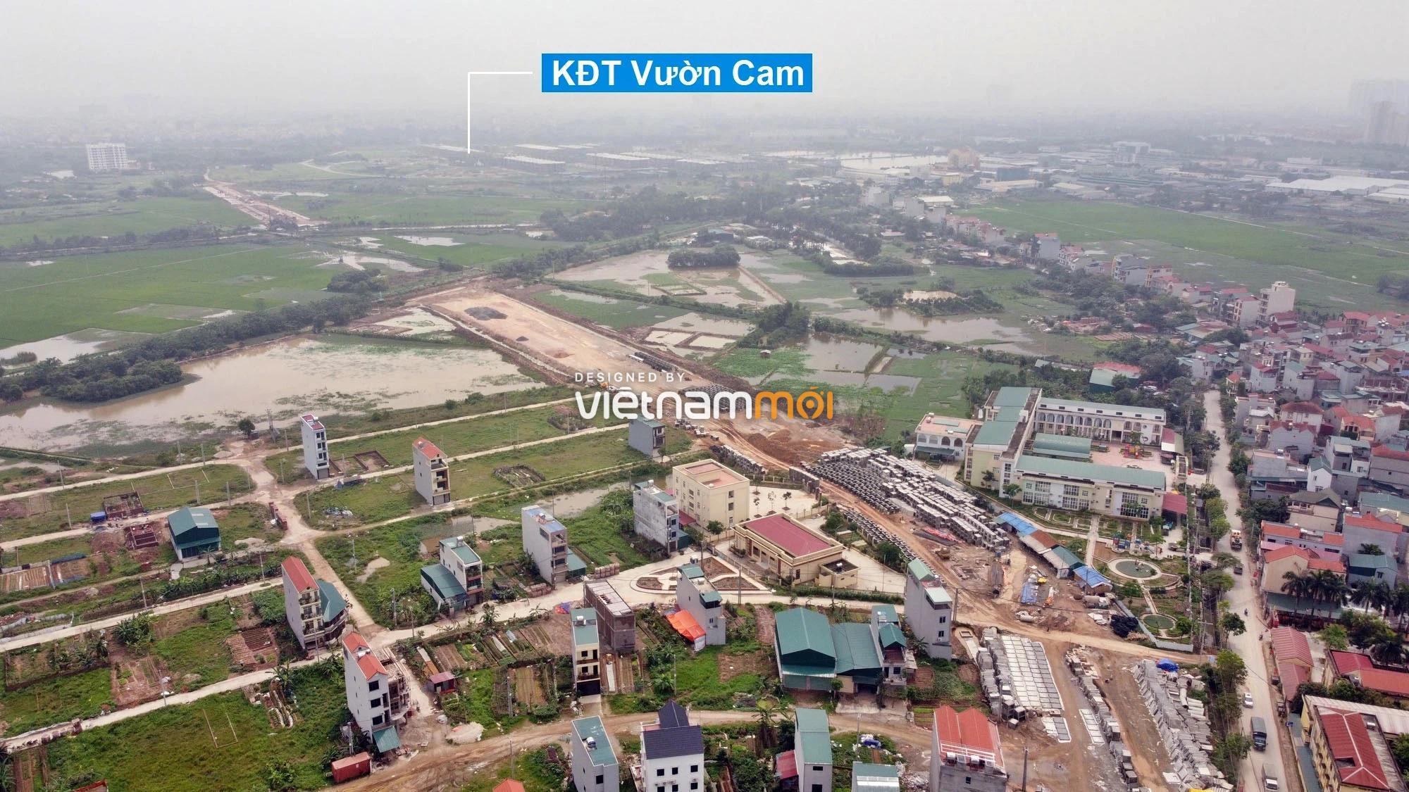 Toàn cảnh đường Lại Yên - Vân Canh đang mở theo quy hoạch ở Hà Nội - Ảnh 8.