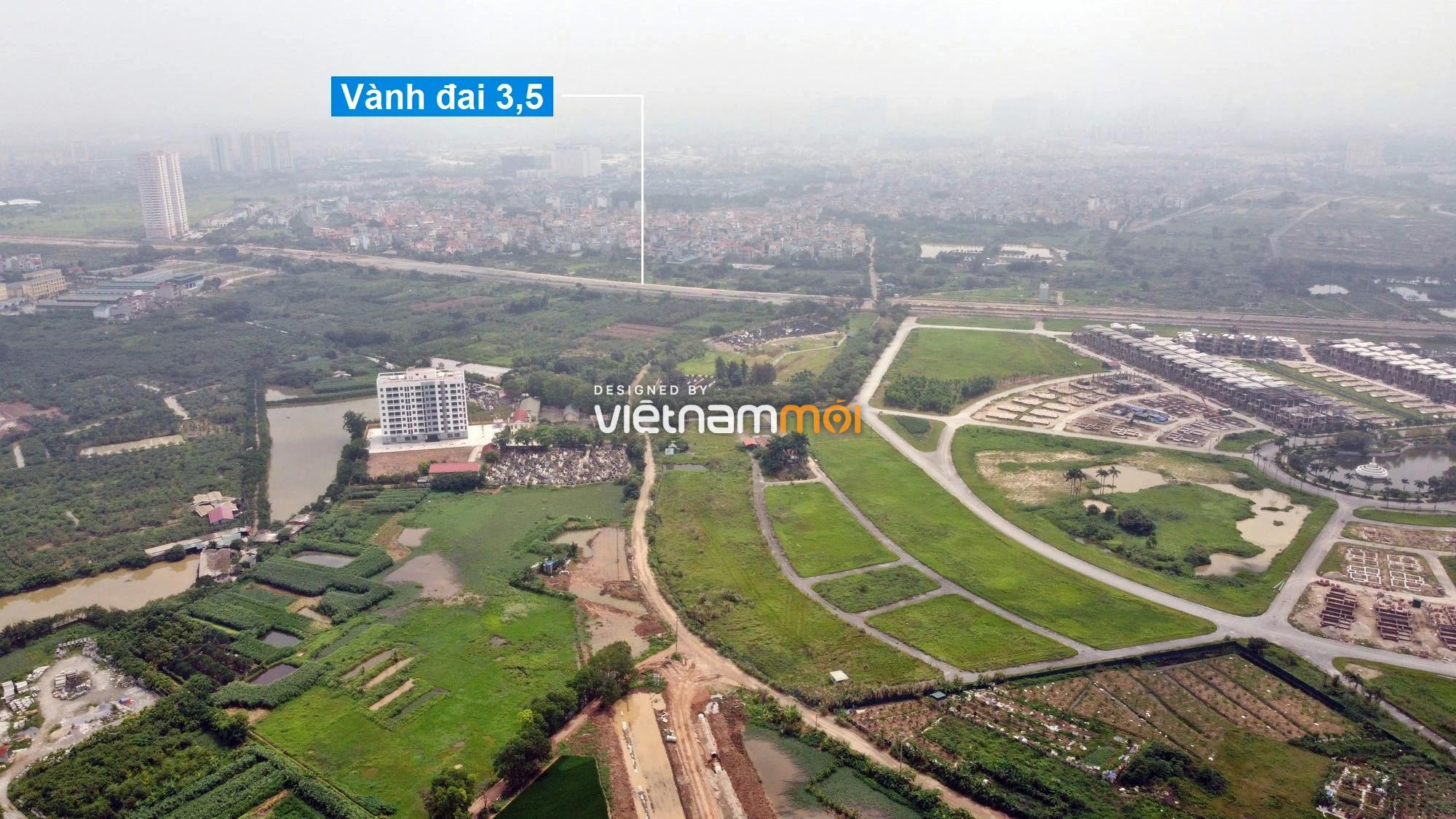 Toàn cảnh đường Lại Yên - Vân Canh đang mở theo quy hoạch ở Hà Nội - Ảnh 11.