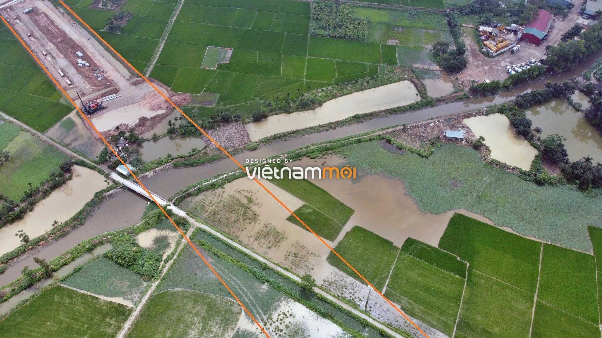 Toàn cảnh đường Lại Yên - Vân Canh đang mở theo quy hoạch ở Hà Nội - Ảnh 12.