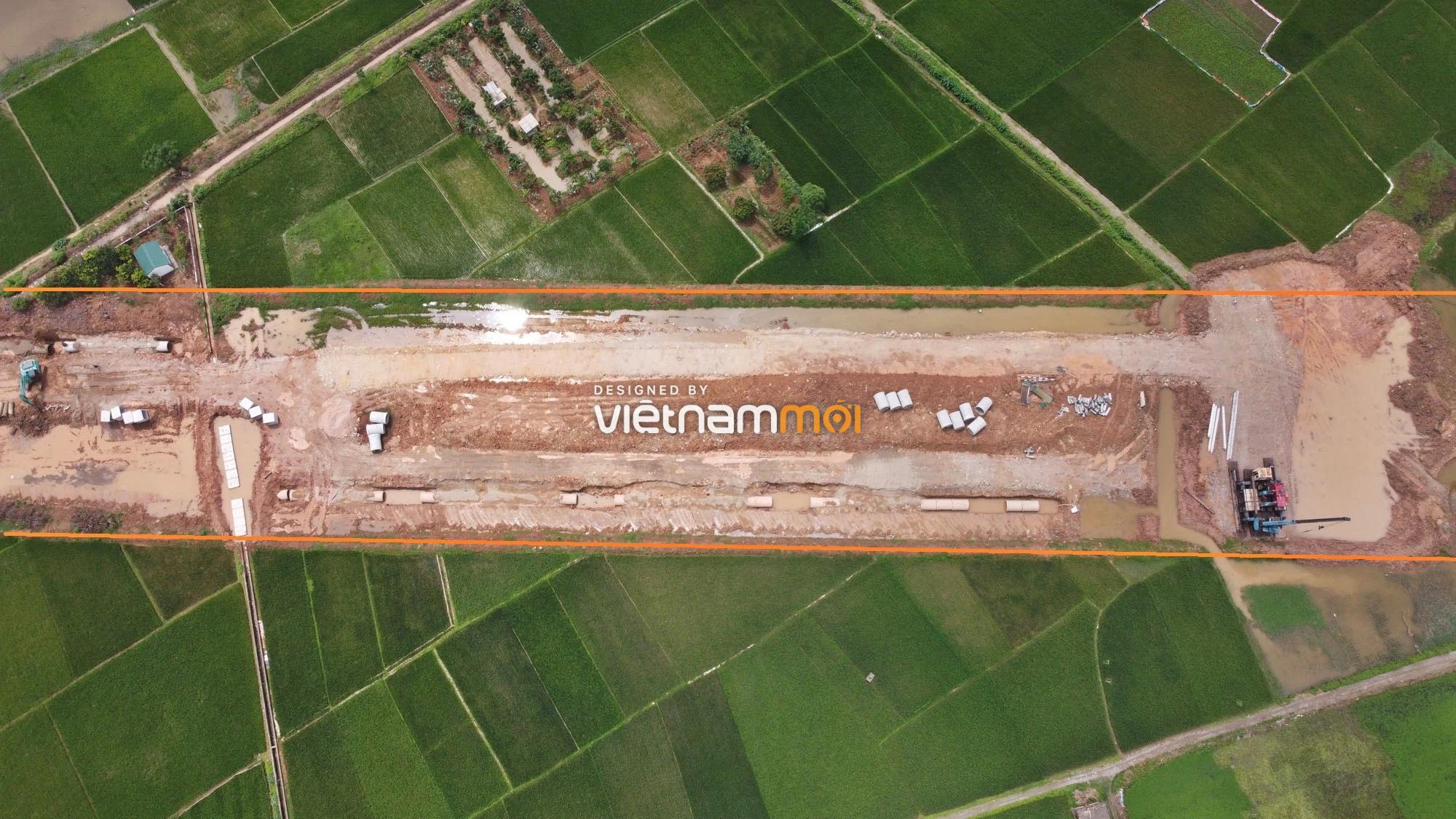 Toàn cảnh đường Lại Yên - Vân Canh đang mở theo quy hoạch ở Hà Nội - Ảnh 13.