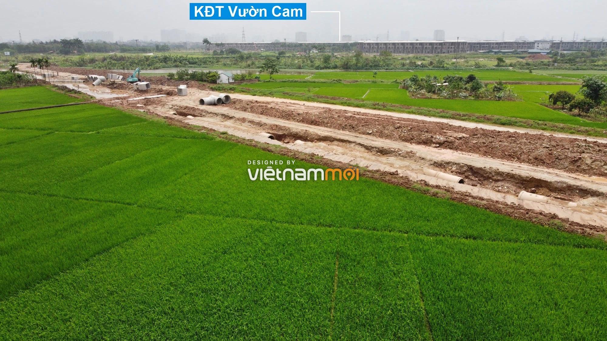 Toàn cảnh đường Lại Yên - Vân Canh đang mở theo quy hoạch ở Hà Nội - Ảnh 15.