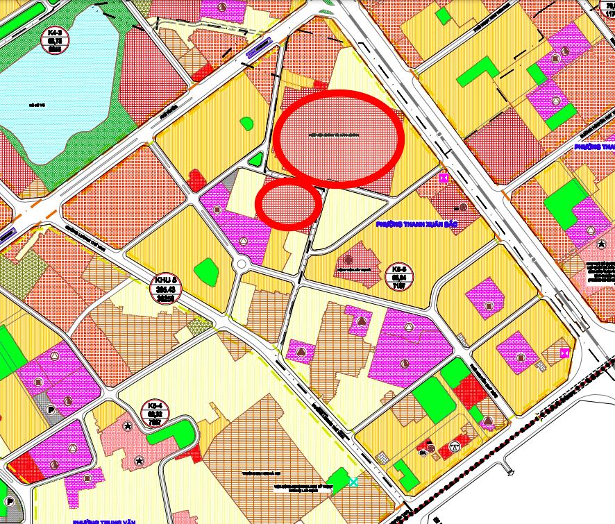 Đất dính quy hoạch ở phường Thanh Xuân Bắc, Thanh Xuân, Hà Nội - Ảnh 1.
