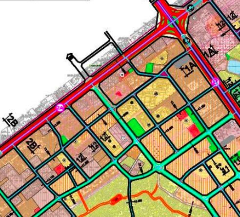 Bản đồ quy hoạch giao thông phường Thanh Xuân Nam, Thanh Xuân, Hà Nội - Ảnh 2.
