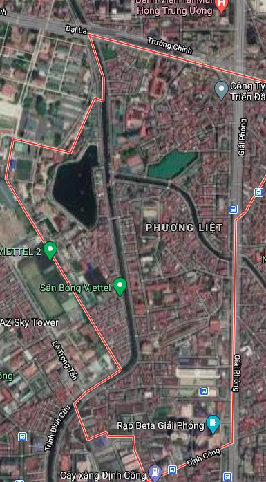 Đường sẽ mở ở phường Phương Liệt, Thanh Xuân, Hà Nội - Ảnh 2.
