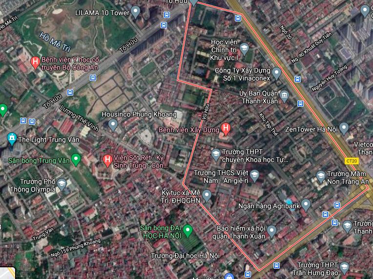 Đất dính quy hoạch ở phường Thanh Xuân Bắc, Thanh Xuân, Hà Nội - Ảnh 2.
