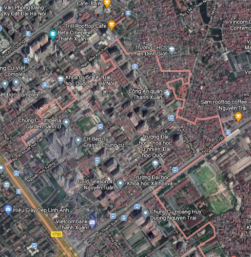 Đất dính quy hoạch ở phường Thanh Xuân Trung, Thanh Xuân, Hà Nội - Ảnh 2.