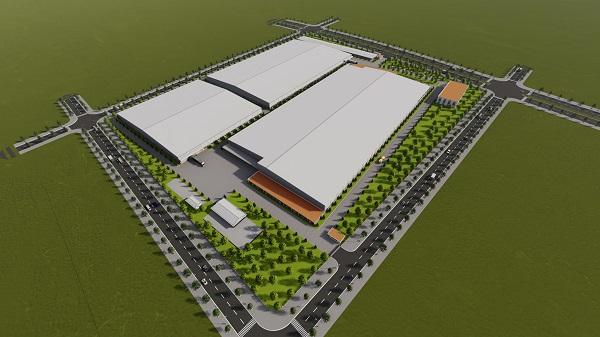 Phối cảnh Nhà máy sản xuất vật liệu bán dẫn United States Enterprises