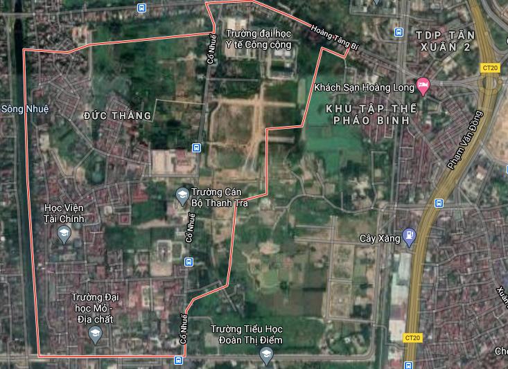 Đường sẽ mở ở phường Đức Thắng, Bắc Từ Liêm, Hà Nội - Ảnh 2.