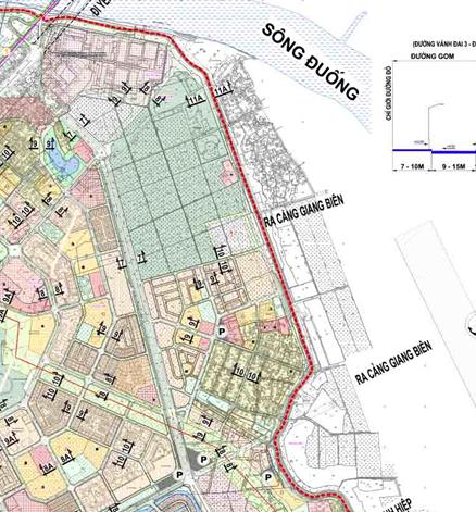 Bản đồ quy hoạch giao thông phường Giang Biên, Long Biên, Hà Nội - Ảnh 2.