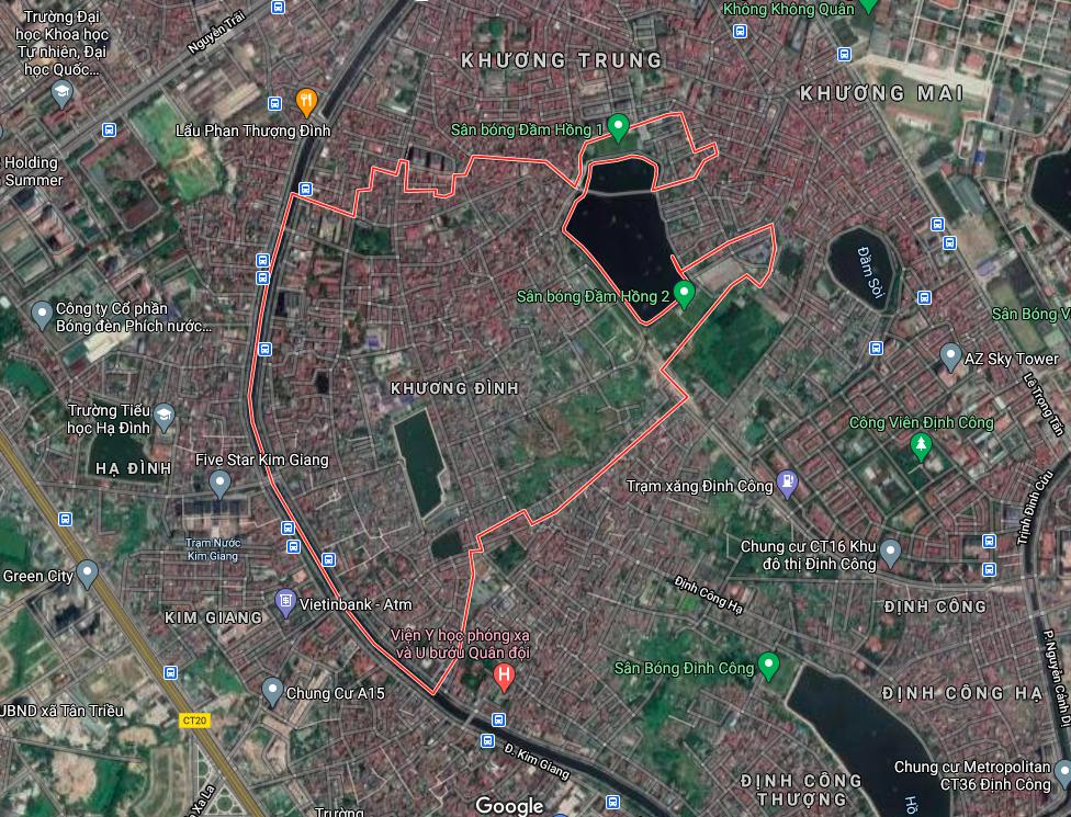 Kế hoạch sử dụng đất phường Khương Đình, Thanh Xuân, Hà Nội năm 2021 - Ảnh 2.