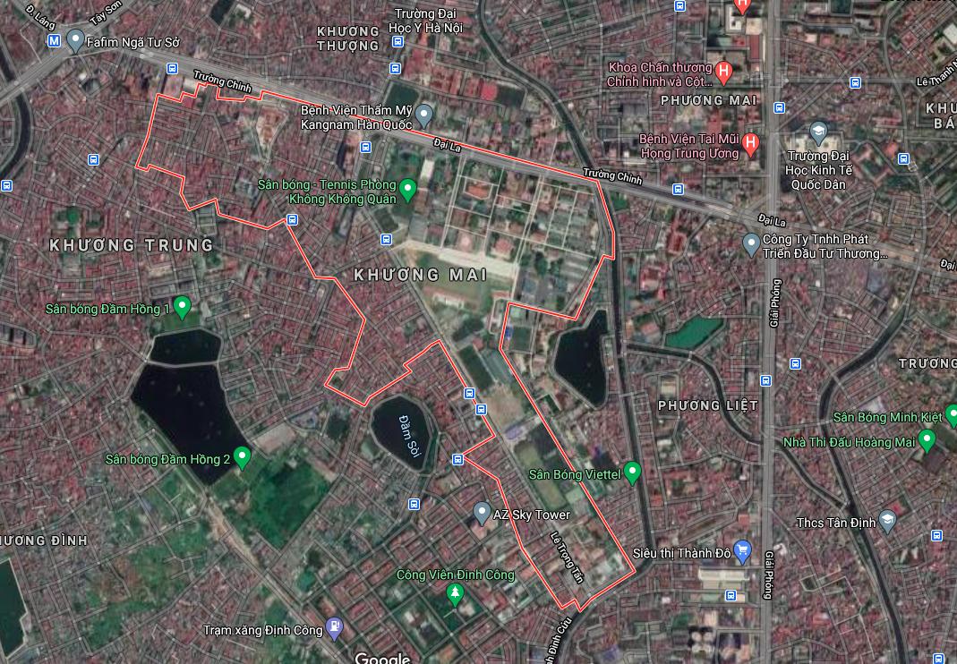 Kế hoạch sử dụng đất phường Khương Mai, Thanh Xuân, Hà Nội năm 2021 - Ảnh 2.