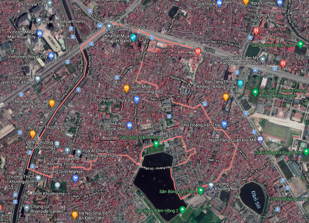 Kế hoạch sử dụng đất phường Khương Trung, Thanh Xuân, Hà Nội năm 2021 - Ảnh 2.