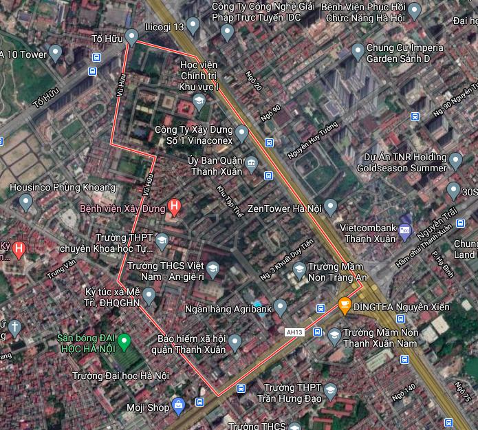 Kế hoạch sử dụng đất phường Thanh Xuân Bắc, Thanh Xuân, Hà Nội năm 2021 - Ảnh 2.