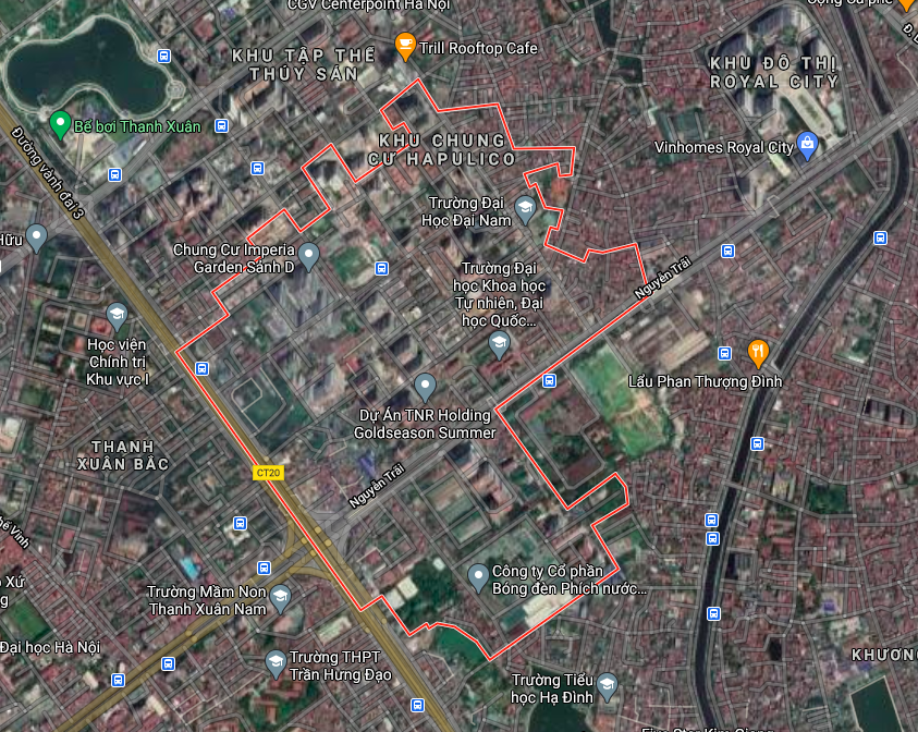 Kế hoạch sử dụng đất phường Thanh Xuân Trung, Thanh Xuân, Hà Nội năm 2021 - Ảnh 2.
