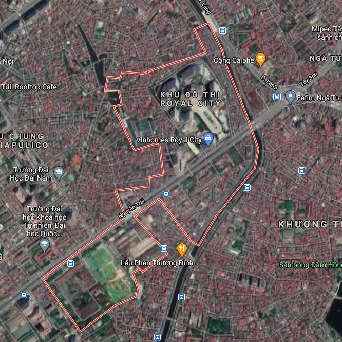 Kế hoạch sử dụng đất phường Thượng Đình, Thanh Xuân, Hà Nội năm 2021 - Ảnh 2.