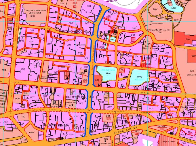 Đường sắp mở theo quy hoạch ở phường Ngọc Hà, quận Ba Đình (phần 1): Đường Kim Mã - Hoàng Hoa Thám  - Ảnh 1.