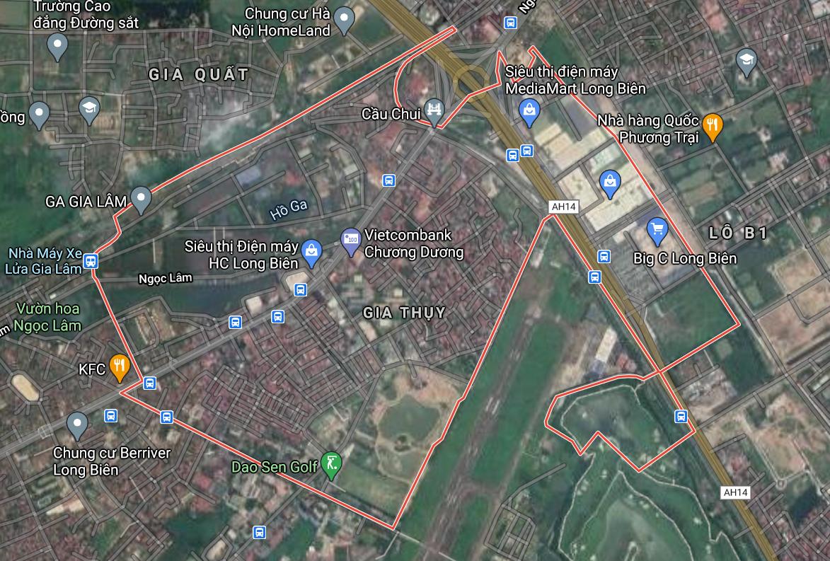 Kế hoạch sử dụng đất phường Gia Thụy, Long Biên, Hà Nội năm 2021 - Ảnh 2.