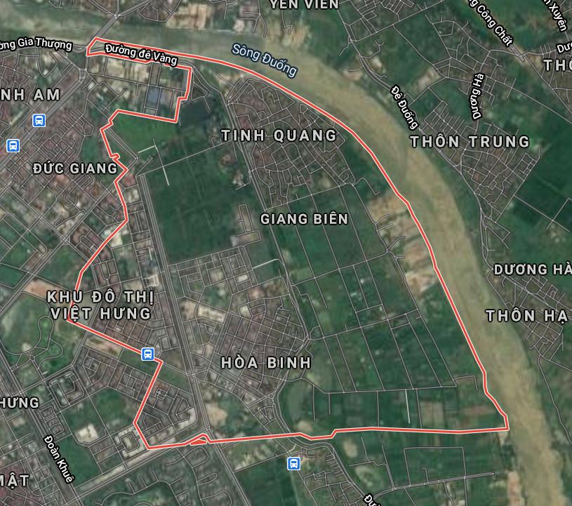 Kế hoạch sử dụng đất phường Giang Biên, Long Biên, Hà Nội năm 2021 - Ảnh 2.