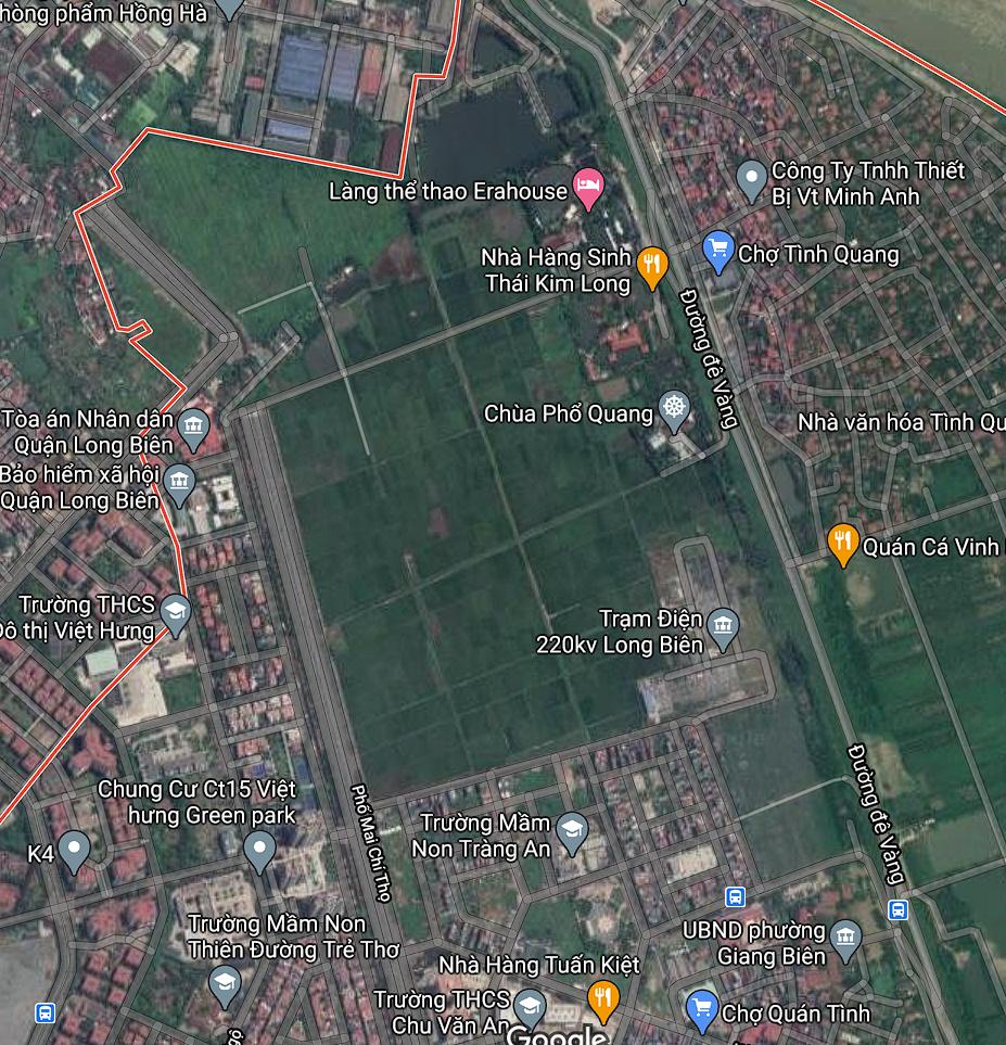 Đất dính quy hoạch ở phường Giang Biên, Long Biên, Hà Nội - Ảnh 2.