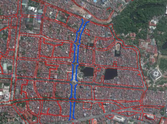 Đường sắp mở theo quy hoạch ở phường Ngọc Hà, quận Ba Đình (phần 1): Đường Kim Mã - Hoàng Hoa Thám  - Ảnh 2.