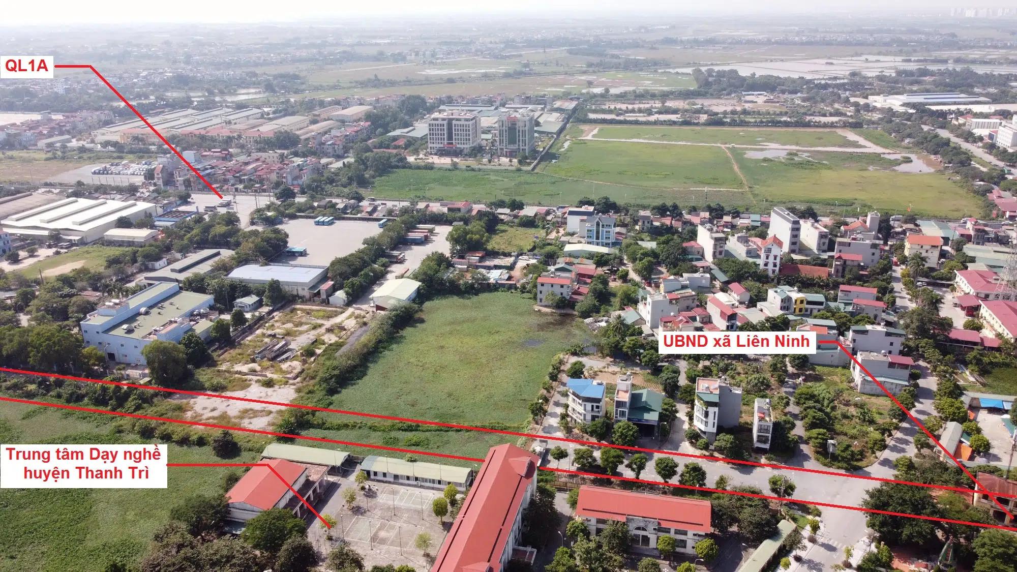 Duyệt kế hoạch sử dụng đất huyện Thanh Trì năm 2021, sắp triển khai dự án xây dựng tuyến đường sắt đô thị số 1 - Ảnh 1.