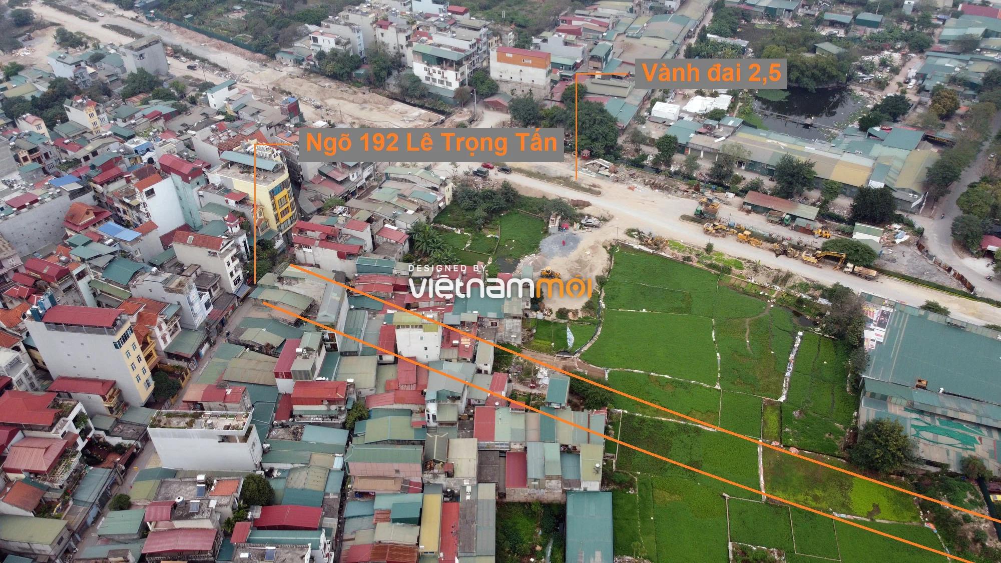 Đường sẽ mở theo quy hoạch ở phường Định Công, Hoàng Mai, Hà Nội (phần 4) - Ảnh 3.
