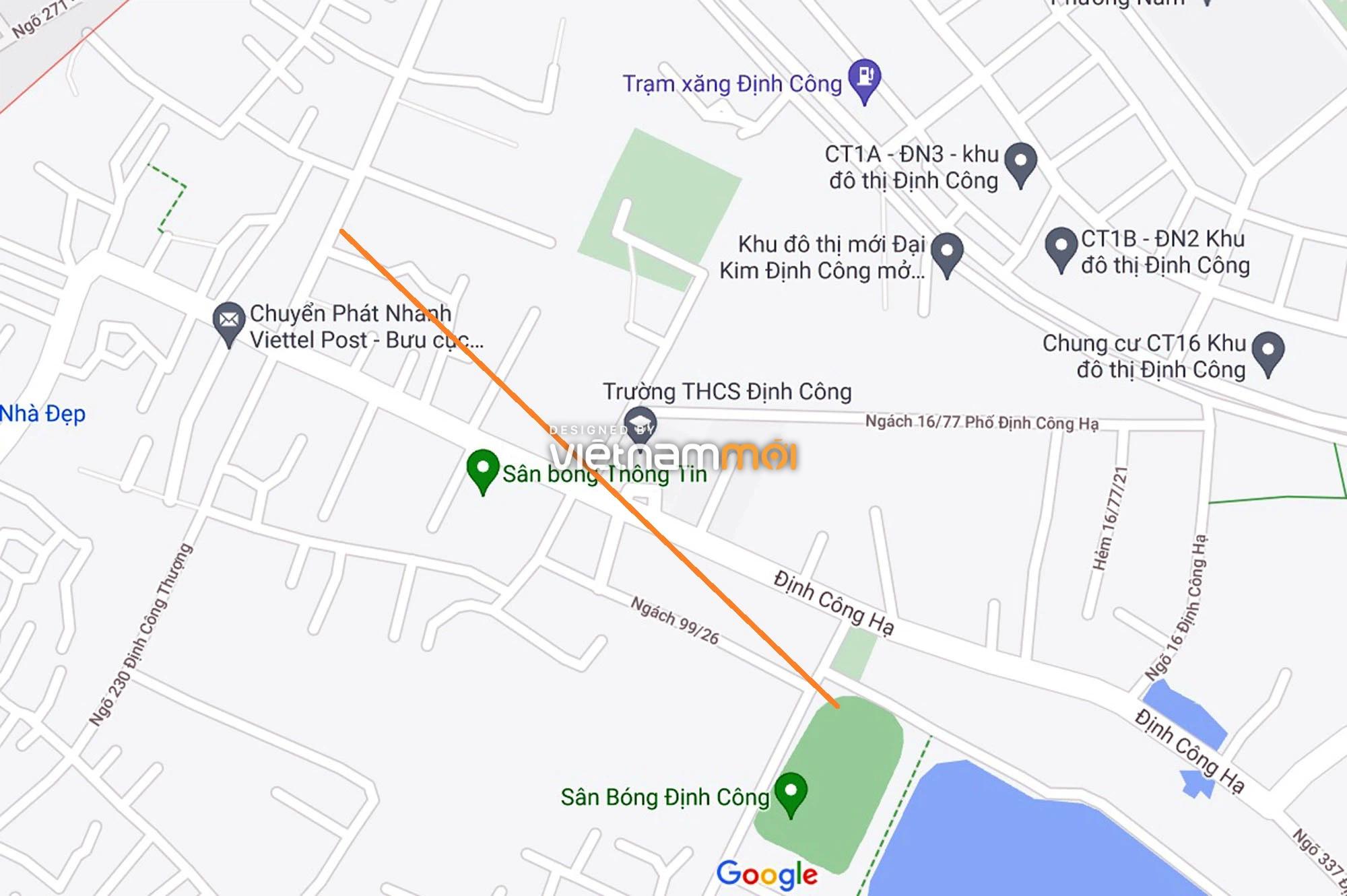 Đường sẽ mở theo quy hoạch ở phường Định Công, Hoàng Mai, Hà Nội (phần 4) - Ảnh 6.