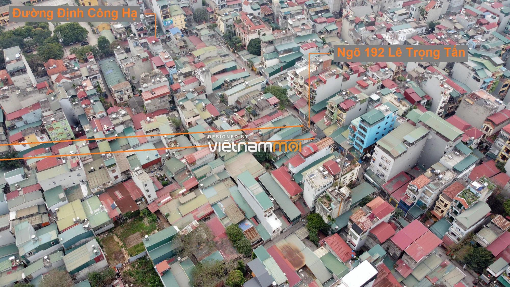 Đường sẽ mở theo quy hoạch ở phường Định Công, Hoàng Mai, Hà Nội (phần 4) - Ảnh 7.