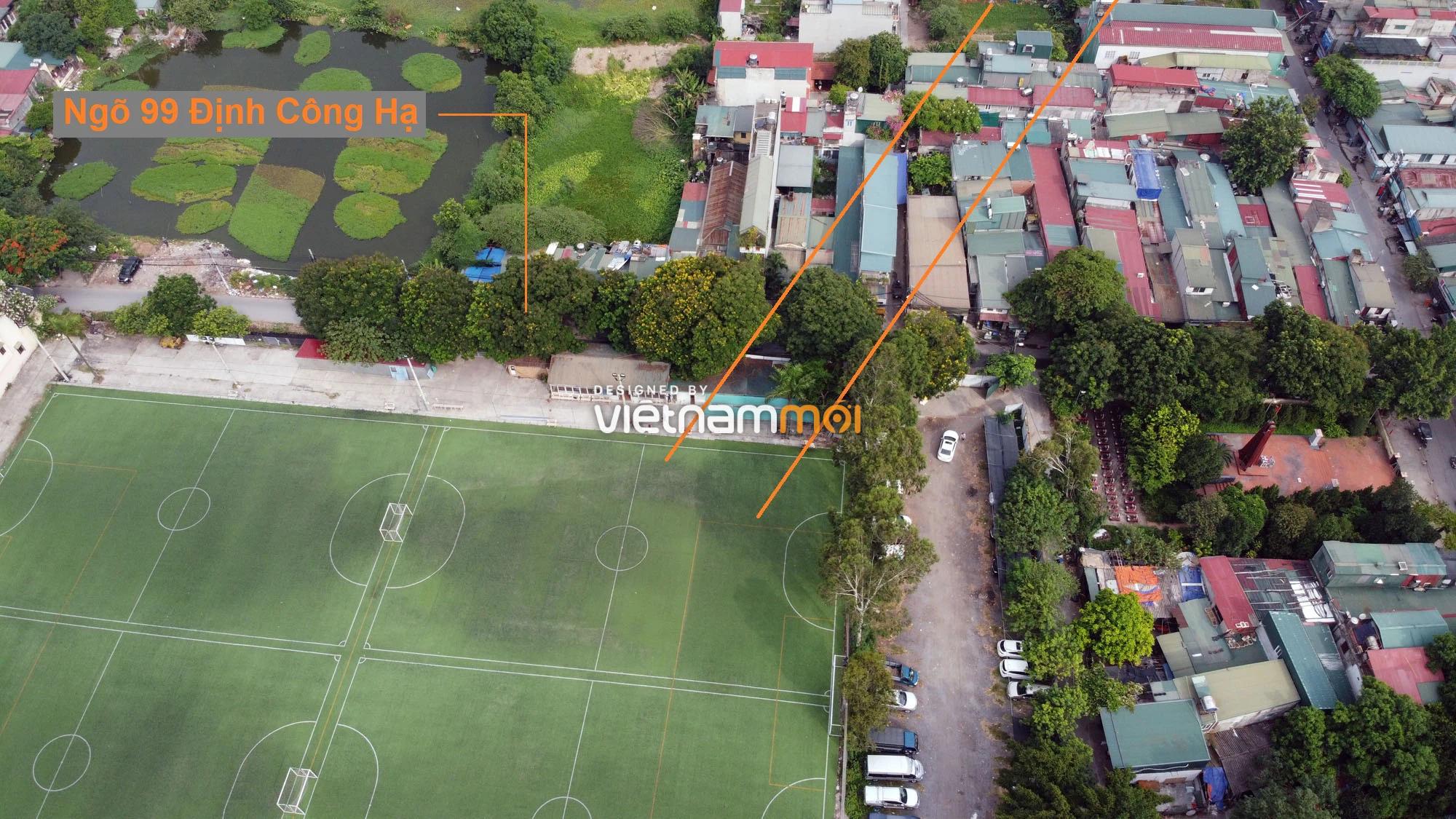 Đường sẽ mở theo quy hoạch ở phường Định Công, Hoàng Mai, Hà Nội (phần 4) - Ảnh 9.