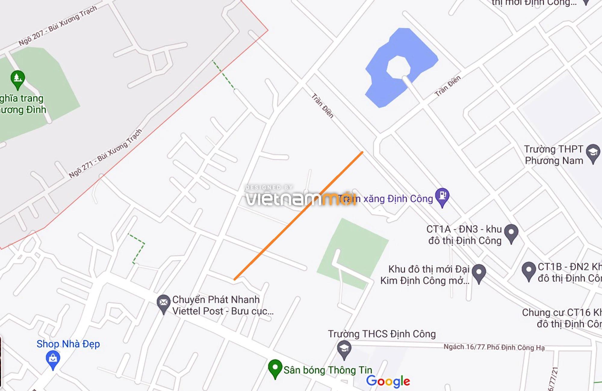 Đường sẽ mở theo quy hoạch ở phường Định Công, Hoàng Mai, Hà Nội (phần 4) - Ảnh 10.