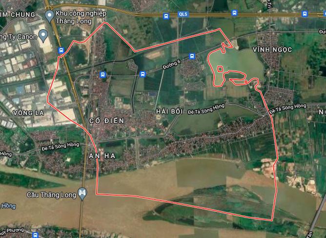 Kế hoạch sử dụng đất xã Hải Bối, Đông Anh, Hà Nội năm 2021 - Ảnh 2.