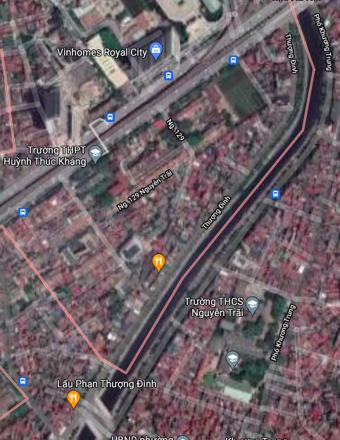 Đất dính quy hoạch ở phường Thượng Đình, Thanh Xuân, Hà Nội - Ảnh 2.