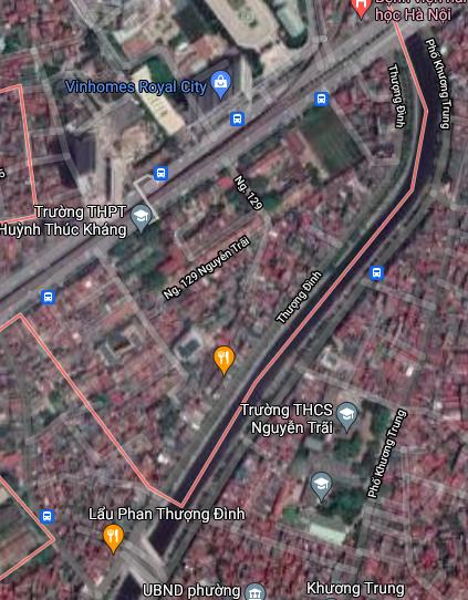 Đường sẽ mở ở phường Thượng Đình, Thanh Xuân, Hà Nội - Ảnh 2.