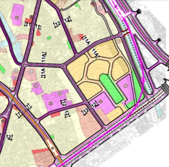 Bản đồ quy hoạch giao thông phường Thượng Đình, Thanh Xuân, Hà Nội - Ảnh 2.