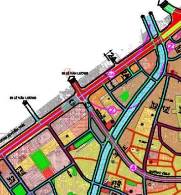 Bản đồ quy hoạch giao thông phường Thượng Đình, Thanh Xuân, Hà Nội - Ảnh 3.