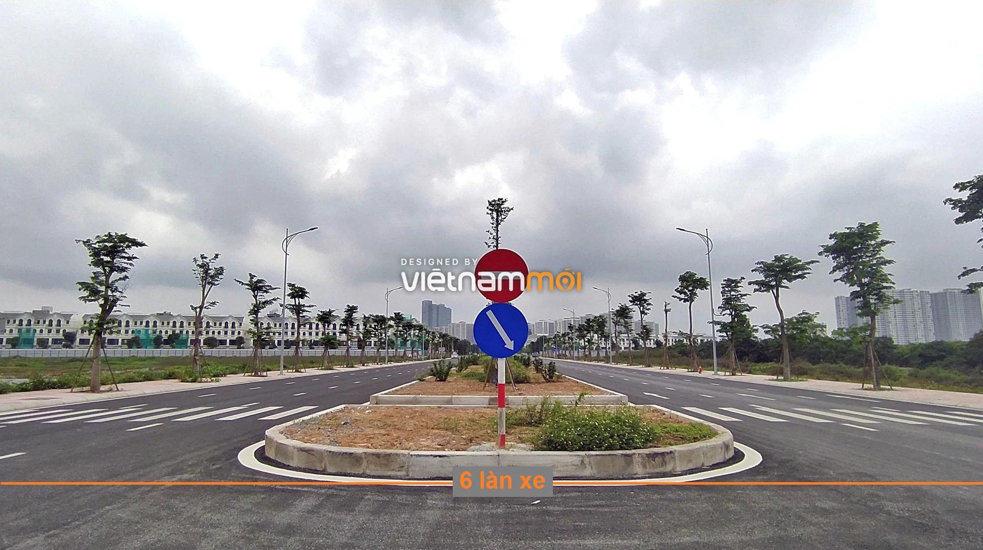 Toàn cảnh đường nối Vinhomes Ocean Park với ga Phú Thụy đang mở theo quy hoạch ở Hà Nội - Ảnh 7.