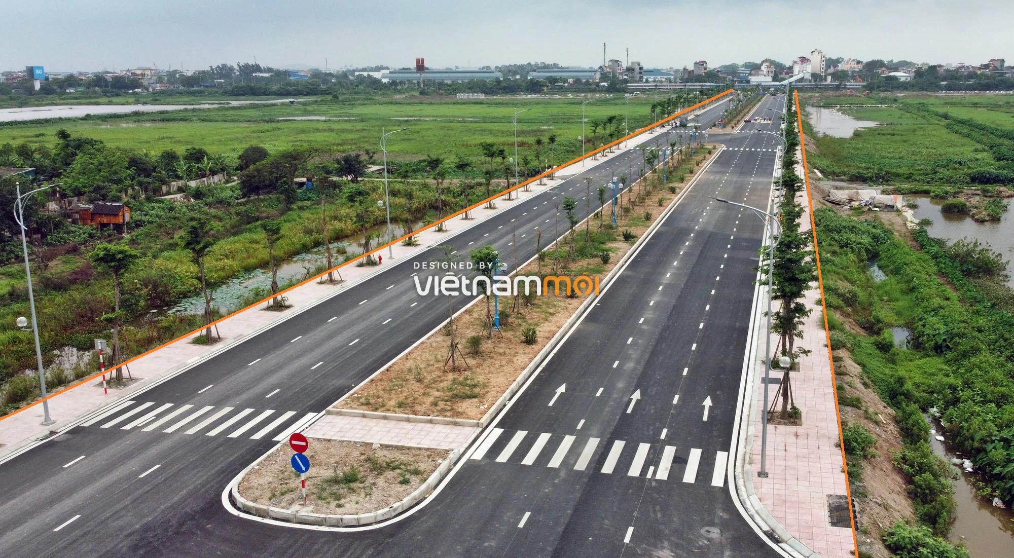 Toàn cảnh đường nối Vinhomes Ocean Park với ga Phú Thụy đang mở theo quy hoạch ở Hà Nội - Ảnh 8.