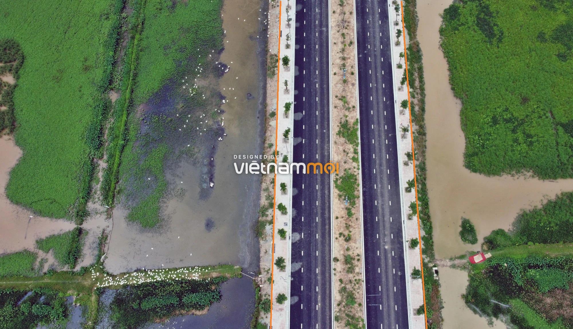 Toàn cảnh đường nối Vinhomes Ocean Park với ga Phú Thụy đang mở theo quy hoạch ở Hà Nội - Ảnh 11.