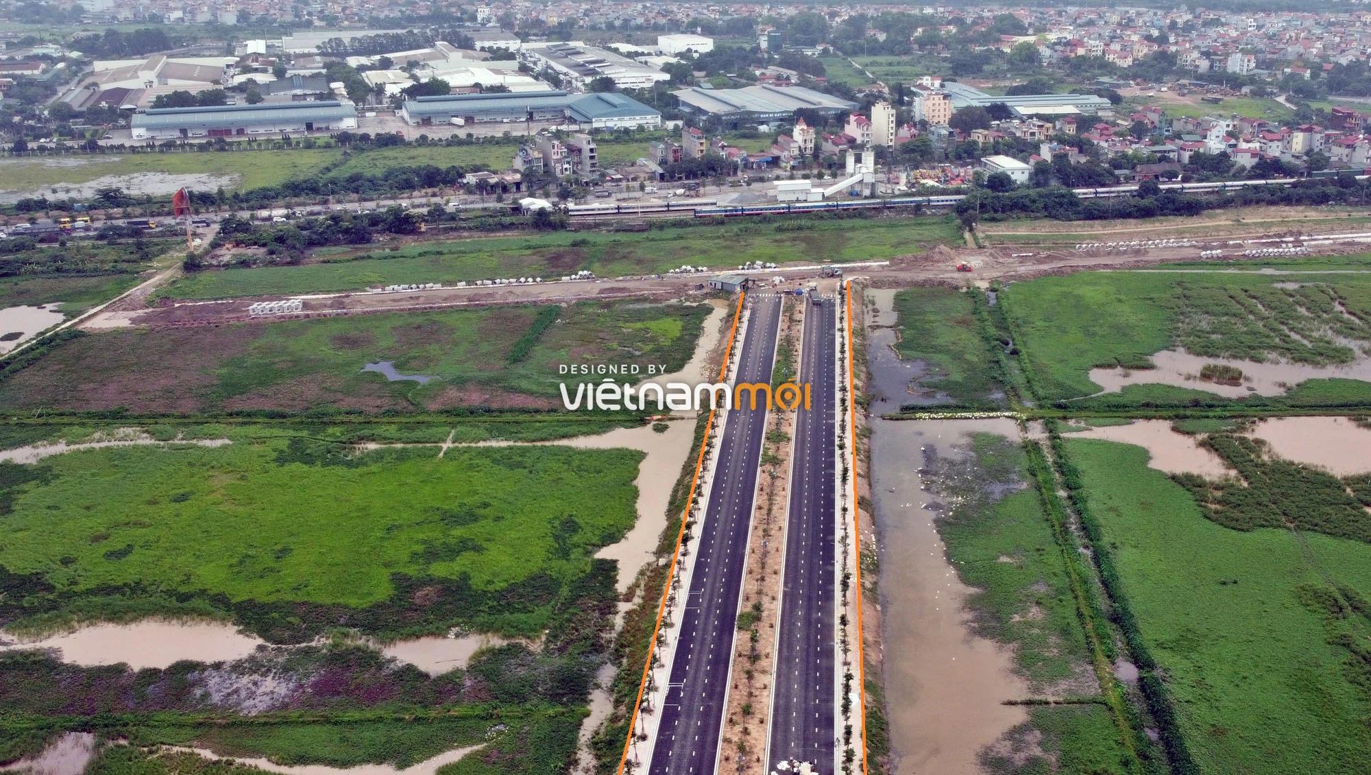 Toàn cảnh đường nối Vinhomes Ocean Park với ga Phú Thụy đang mở theo quy hoạch ở Hà Nội - Ảnh 12.