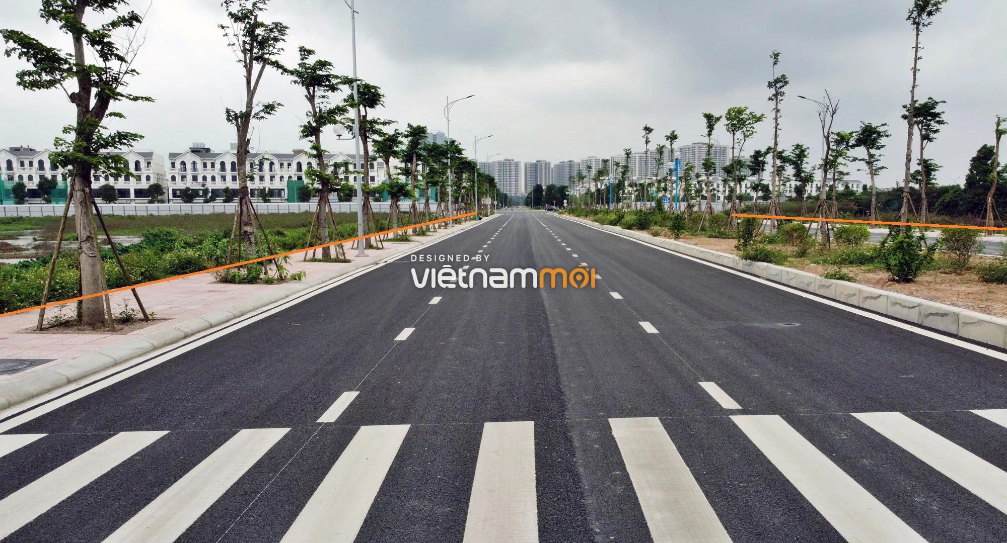 Toàn cảnh đường nối Vinhomes Ocean Park với ga Phú Thụy đang mở theo quy hoạch ở Hà Nội - Ảnh 14.