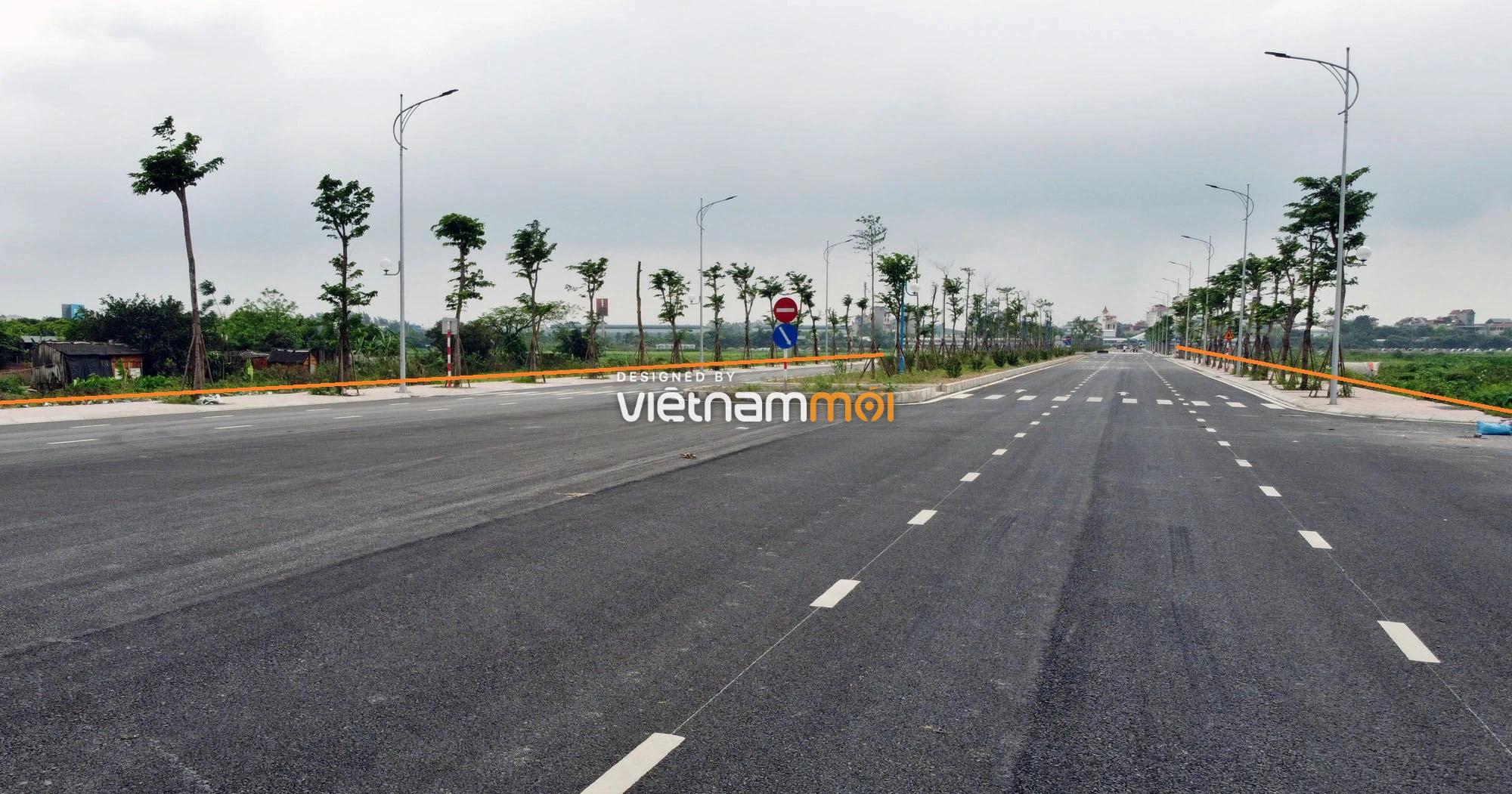 Toàn cảnh đường nối Vinhomes Ocean Park với ga Phú Thụy đang mở theo quy hoạch ở Hà Nội - Ảnh 15.