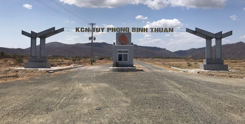 KCN Tuy Phong 150 ha tại Bình Thuận đang triển khai đến đâu? - Ảnh 1.