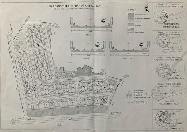 Đấu giá 74 lô đất tại huyện Lạng Giang tỉnh Bắc Giang  - Ảnh 1.